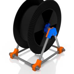 spool holder.PNG Download STL file Spool holder • 3D print object, 3DPrinterDESIGN