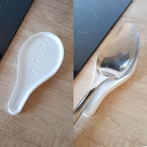 Download 3D printer templates spoon holder, yoannlaurence