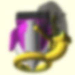 ring_part_cooler.stl Télécharger fichier STL gratuit Rafraîchisseur de pièce à anneau chauffant diamanté • Objet pour imprimante 3D, spiritdude