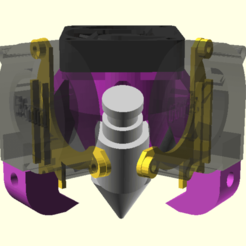 Download free 3D printer designs Diamond Hotend Dual Short Fan Shrouds, spiritdude
