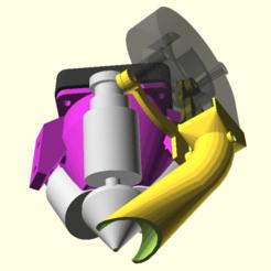 Télécharger fichier imprimante 3D gratuit Refroidisseur de pièce directionnel Diamond Hotend, spiritdude