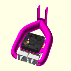 Screenshot from 2019-09-22 06-21-52.png Download free STL file Dual Extrusion with 2x CR10 / Micro Swiss Hotends with Part Cooler • 3D printing object, spiritdude