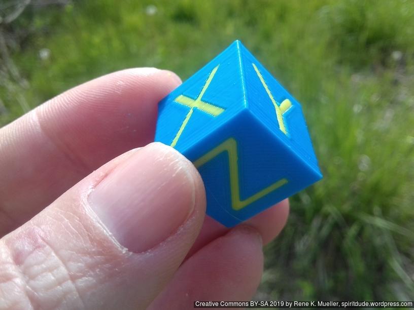 20190517_170033.jpg Download free STL file XYZ 20mm Hollow Calibration Cube (Single Color / Dual Color) • 3D printer model, spiritdude