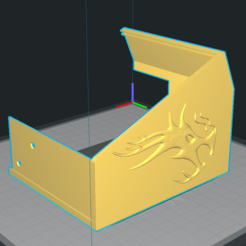 Download 3D printer designs ENDER 3 PRO LCD CASE LOGO ENDER CREALITY, Diego_Ochoa_Guerrero