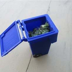 Impresiones 3D gratis Cubo de basura 120l (en funcionamiento) 1/10, Creatom