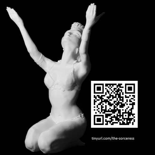 Télécharger fichier impression 3D La sorcière, dorindxn