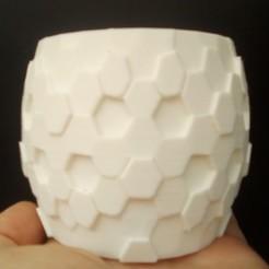 maceta icosaedro.jpg Download GCODE file GEODESIC POT • Template to 3D print, mdscheffer2