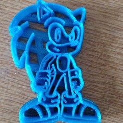 IMG_20200430_131752[1].jpg Download STL file SONIC COOKIE CUTTER SONIC • Design to 3D print, mdscheffer2
