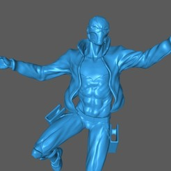 1.jpg Télécharger fichier STL Capuche rouge (Version BD) • Plan pour impression 3D, Garith