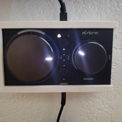 Download 3D printer model Astro Mix Amp wallmount, funkwad96
