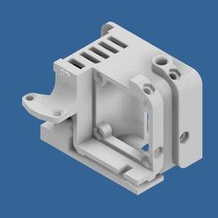 Télécharger fichier 3D Compact Сreality Protection d'extrudeuse Ender 3 (couvercle) avec emplacements de refroidissement standard fournis et support pour BL Touch (3D Touch)., CompadreVlad