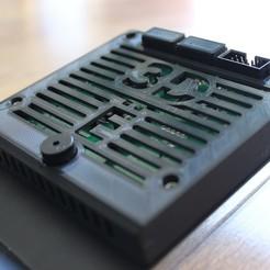 Imprimir en 3D Tapa LCD Ender 3, CompadreVlad