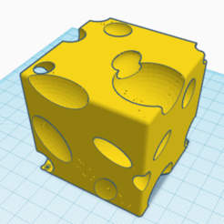 Download free 3D printer designs A Block of Swiss Cheese, GenMills