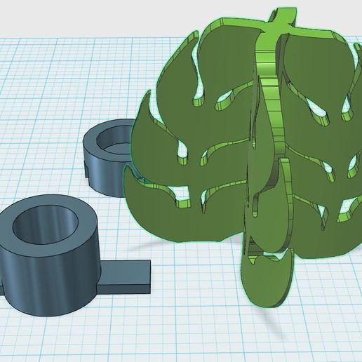 Download free 3D printer files Leaf shaped vertical wind generator, mark43