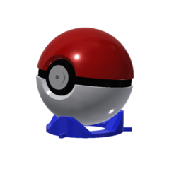 POKEBALL.png Download STL file Pokeball Puzzle • 3D printing template, 3DPrintersaur