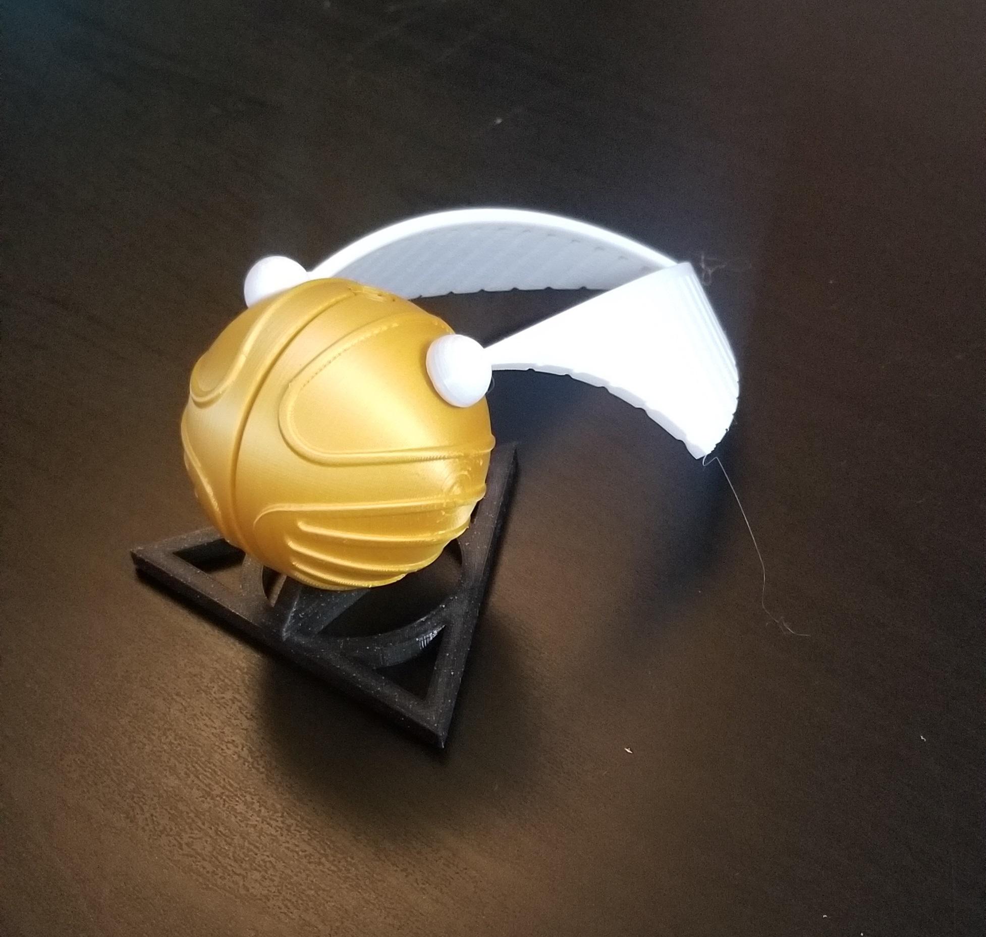 20201017_152741.jpg Download STL file Golden snitch Puzzle • Model to 3D print, 3DPrintersaur