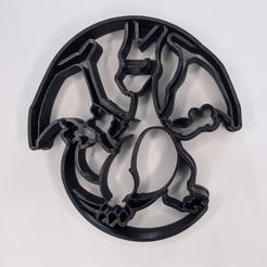 Download STL file Charizard cookie cutter • 3D printer model, 3DPrintersaur