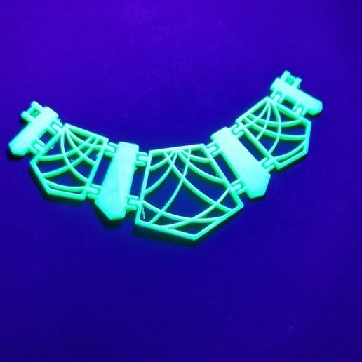 Download free 3D printing designs Geometric Necklace (single print), 3DPrintersaur