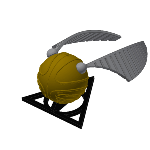 SNITCH PUZZLE.png Download STL file Golden snitch Puzzle • Model to 3D print, 3DPrintersaur