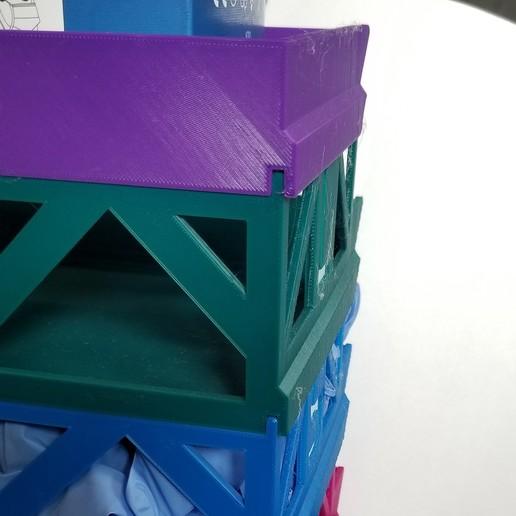20200623_171345.jpg Télécharger fichier STL gratuit Porte-boîte à gants empilable • Objet pour imprimante 3D, 3DPrintersaur