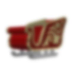 ALIGNMENT PIN.stl Download free STL file Santa Sleigh • Object to 3D print, 3DPrintersaur