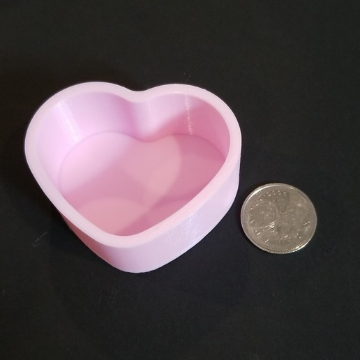 Download free STL file Heart Container • 3D printable model, 3DPrintersaur