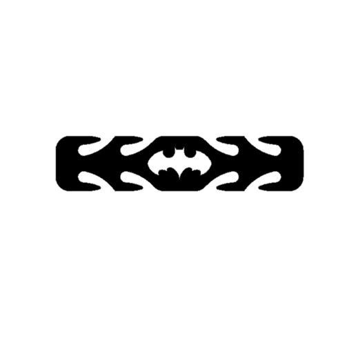 BATMAN KIDS EAR PROTECTOR.png Download free STL file ASSORTED KIDS EAR PROTECTORS • 3D printable template, 3DPrintersaur