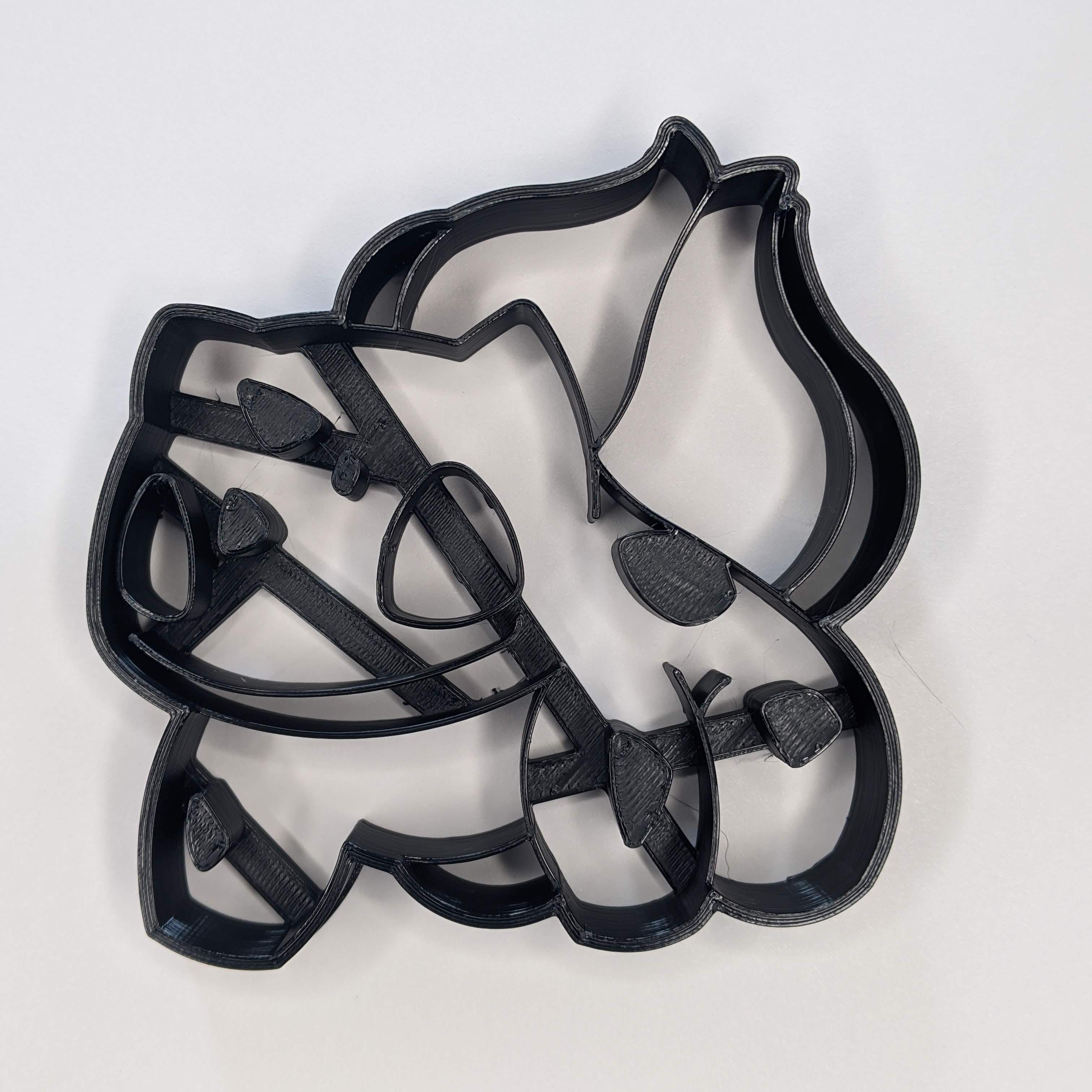 bulbasaur 1.png Télécharger fichier STL Coupe-biscuits Bulbasuar • Modèle pour impression 3D, 3DPrintersaur