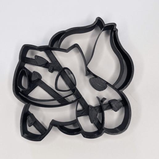Download STL file Bulbasuar cookie cutter • 3D print template, 3DPrintersaur