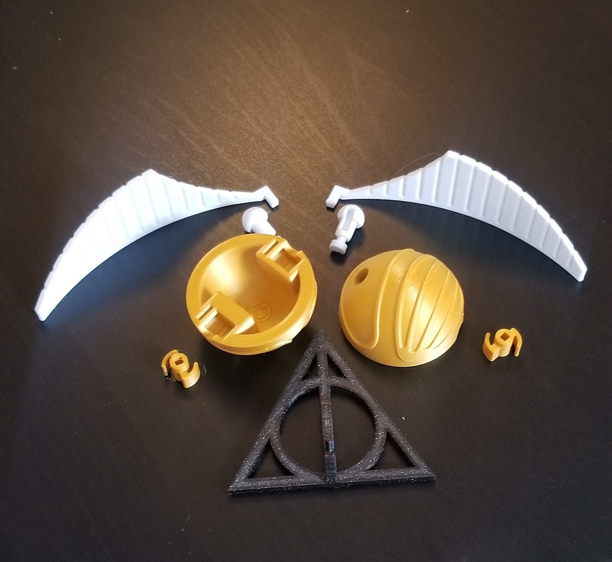 20201017_152037.jpg Download STL file Golden snitch Puzzle • Model to 3D print, 3DPrintersaur