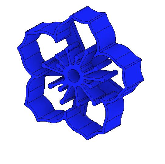 FLOWER COOKIE CUTTER-2.jpg Download STL file Flower cookie cutter • Model to 3D print, 3DPrintersaur