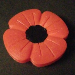 Download free STL file Poppy • 3D printer object, 3DPrintersaur
