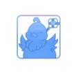 chocobo.png Descargar archivo STL Cortador de galletas Chocobo • Modelo para la impresora 3D, 3DPrintersaur