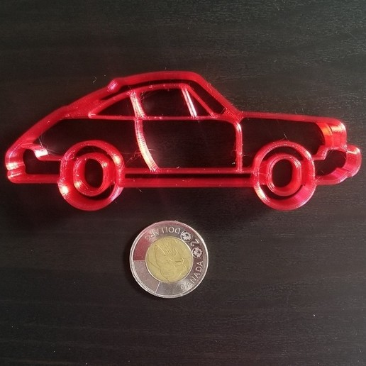 20200813_103328.jpg Descargar archivo STL Cortador de galletas Porsche 911 • Modelo para imprimir en 3D, 3DPrintersaur
