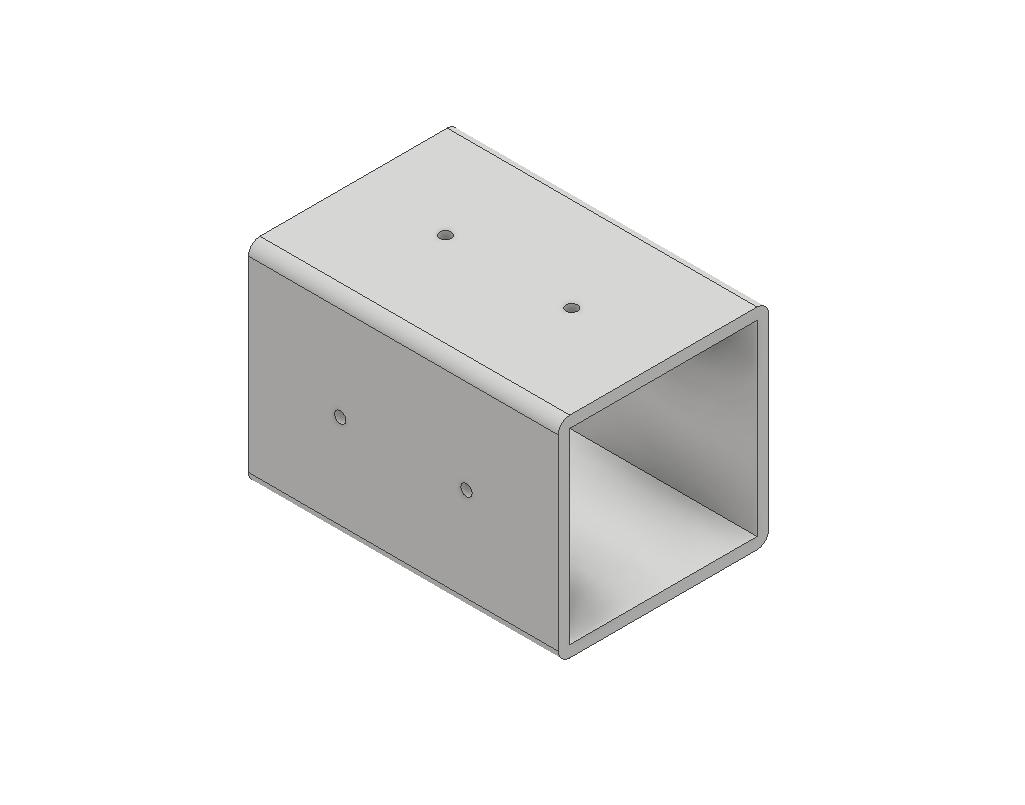 caster wheel sleeve2.png Descargar archivo STL gratis Ikea Lack table caster wheel sleeve • Plan para la impresión en 3D, 3DPrintersaur