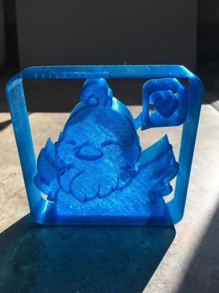 _Resized_received_387908422100335_.jpg Descargar archivo STL Cortador de galletas Chocobo • Modelo para la impresora 3D, 3DPrintersaur