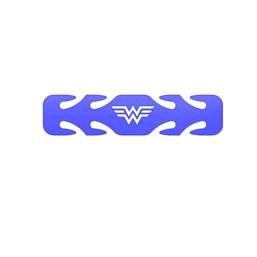 WONDER WOMAN KIDS EAR PROTECTOR.png Download free STL file ASSORTED KIDS EAR PROTECTORS • 3D printable template, 3DPrintersaur