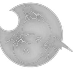 Télécharger fichier 3D Coupe-biscuits Moogle, 3DPrintersaur