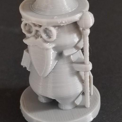 Download free STL Simple Wizard, 3DPrintersaur