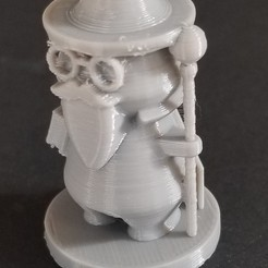 Download free STL Simple Wizard, 3DPrintersaur