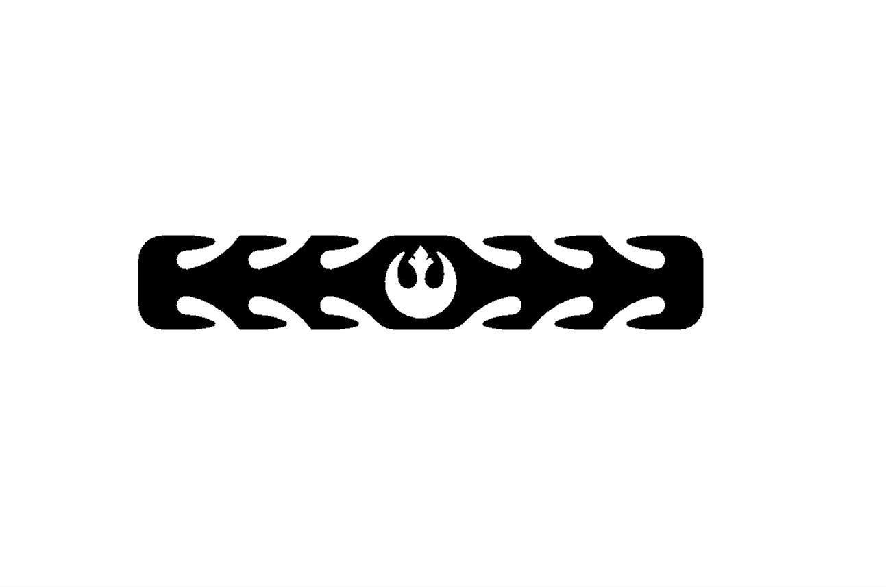 STAR WARS REBEL.png Télécharger fichier STL gratuit Masque de protection auditive pour les rebelles de la guerre des étoiles • Design à imprimer en 3D, 3DPrintersaur