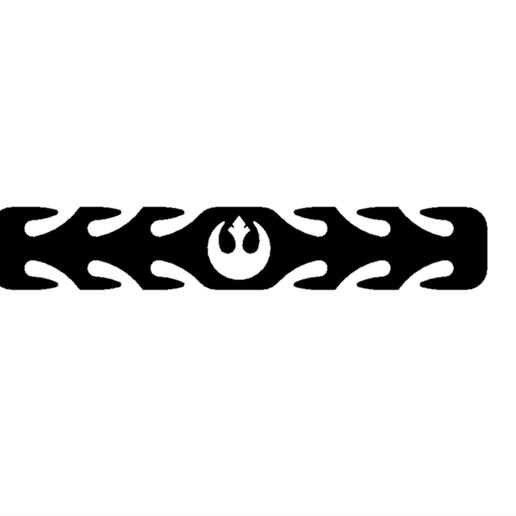 Descargar archivos STL gratis Protector auditivo de la máscara de los rebeldes de la Guerra de las Galaxias, 3DPrintersaur