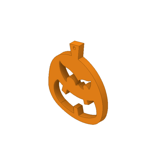pumpkin2.png Download free STL file Pumpkin ornament • 3D print model, 3DPrintersaur