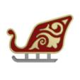 sl2.png Download free STL file Santa Sleigh • Object to 3D print, 3DPrintersaur