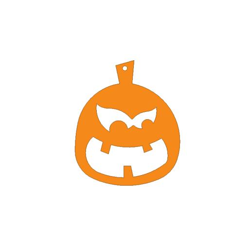 pumpkin1.png Download free STL file Pumpkin ornament • 3D print model, 3DPrintersaur