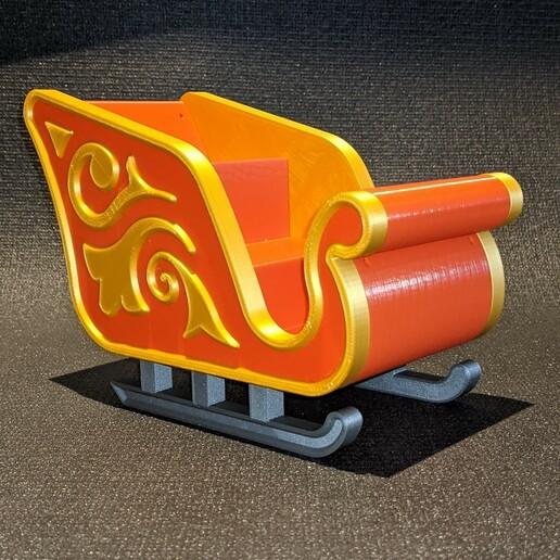 PXL_20201212_183025131.jpg Download free STL file Santa Sleigh • Object to 3D print, 3DPrintersaur