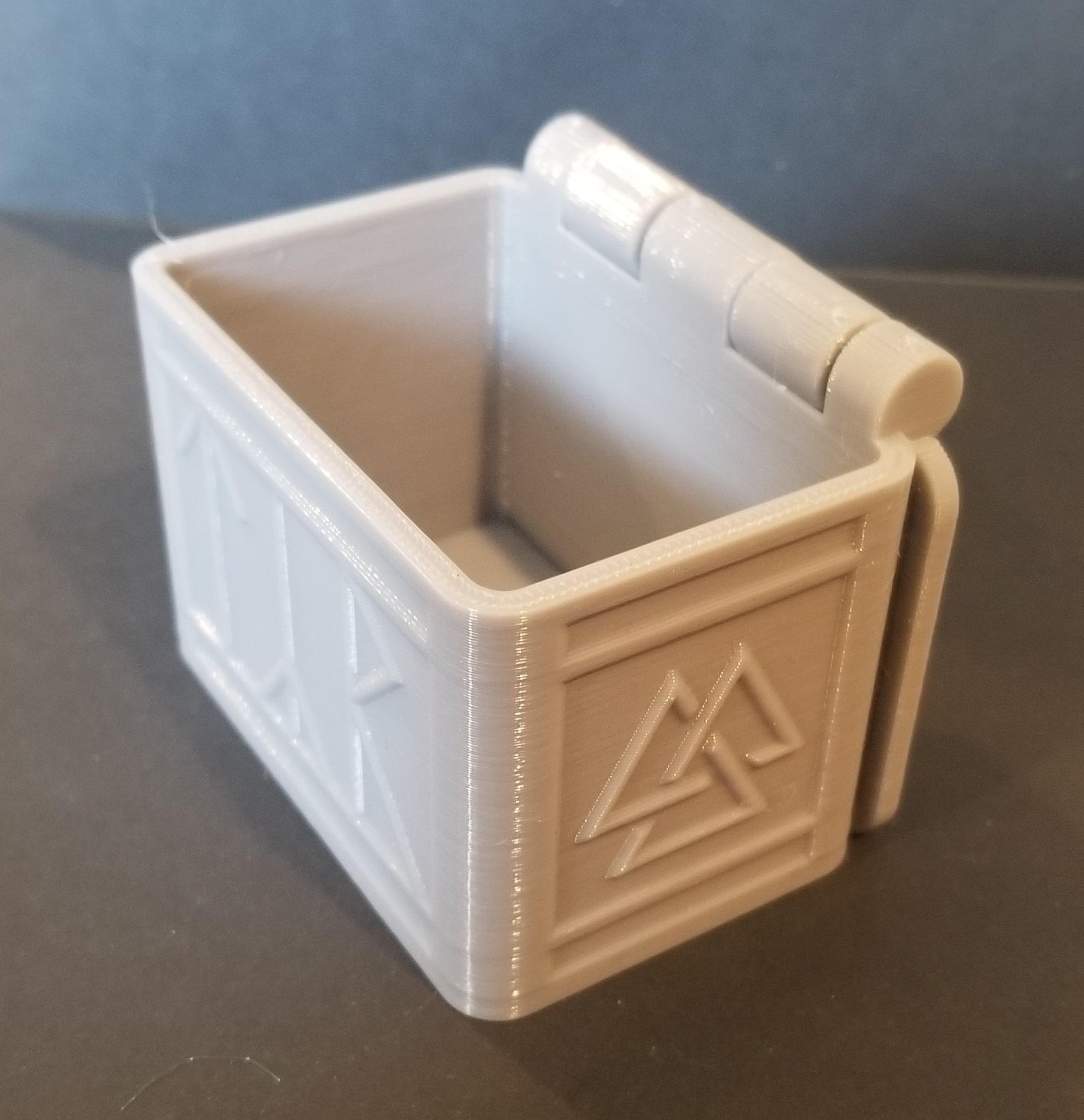 20200105_125918.jpg Télécharger fichier STL gratuit Boîte de runes nordiques avec couvercle (impression unique) • Modèle à imprimer en 3D, 3DPrintersaur