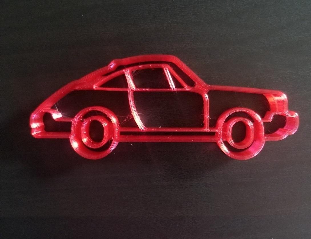 20200813_103754.jpg Descargar archivo STL Cortador de galletas Porsche 911 • Modelo para imprimir en 3D, 3DPrintersaur