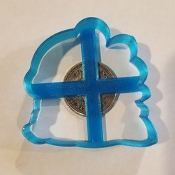 Download free STL file Bubble Bobble outline cookie cutter • 3D printable model, 3DPrintersaur