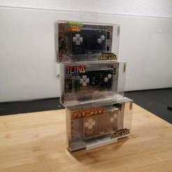 Download free 3D printing templates Micro Arcade Display, vitalij92